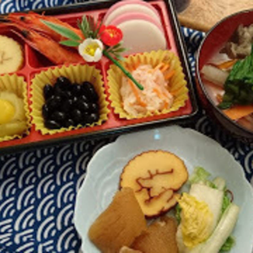 Osechi - New Year's Feast. Not so big, but still Enjoyed Ritual